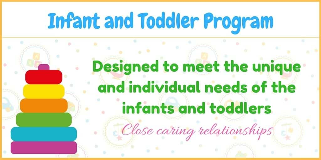 infant and toddler child care