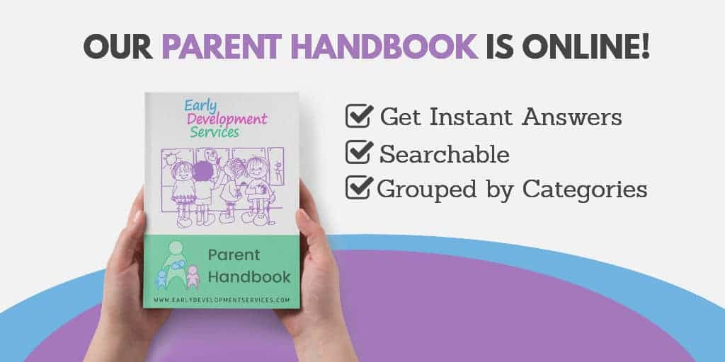 Parent handbook banner